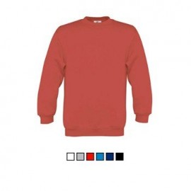 Sweatshirt B&C Set-In Kids 280g - 80% Algodão escovado / 20%