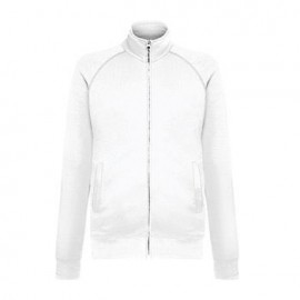 Sweat Jacket Lightweight 240gr - Branca