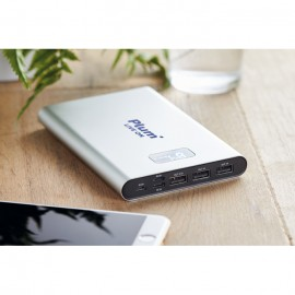 Power Bank alumínio 16000mAh
