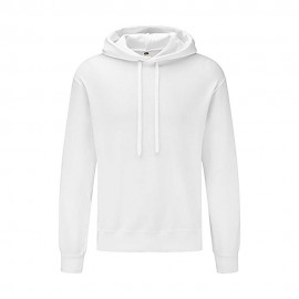 Sweatshirt Classic Hooded Basic 280g - Branco